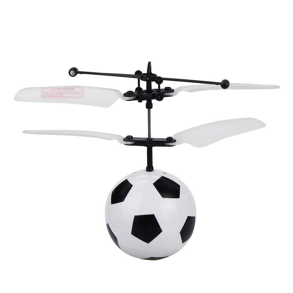 HIINST Flying RC Ball Mini Wireless Control Flashing Football Toys For Kids For Boys OC18b