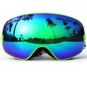 Image 3 - แว่นตาสกี,แว่นตา2020ใหม่ยี่ห้อProfessional Anti Fog Double Lens UV400ทรงกลมขนาดใหญ่ผู้ชายผู้หญิงแว่นตาสกีสโนว์บอร์ดGoggles