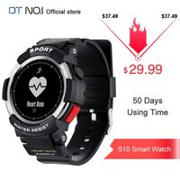 DTNO.I NO.1 F6 0.96inch OLED Display 50 Days Use Time Heart Rate Monitor 50 Meters Waterproof GPS Sport Smart Watch Smartwatch