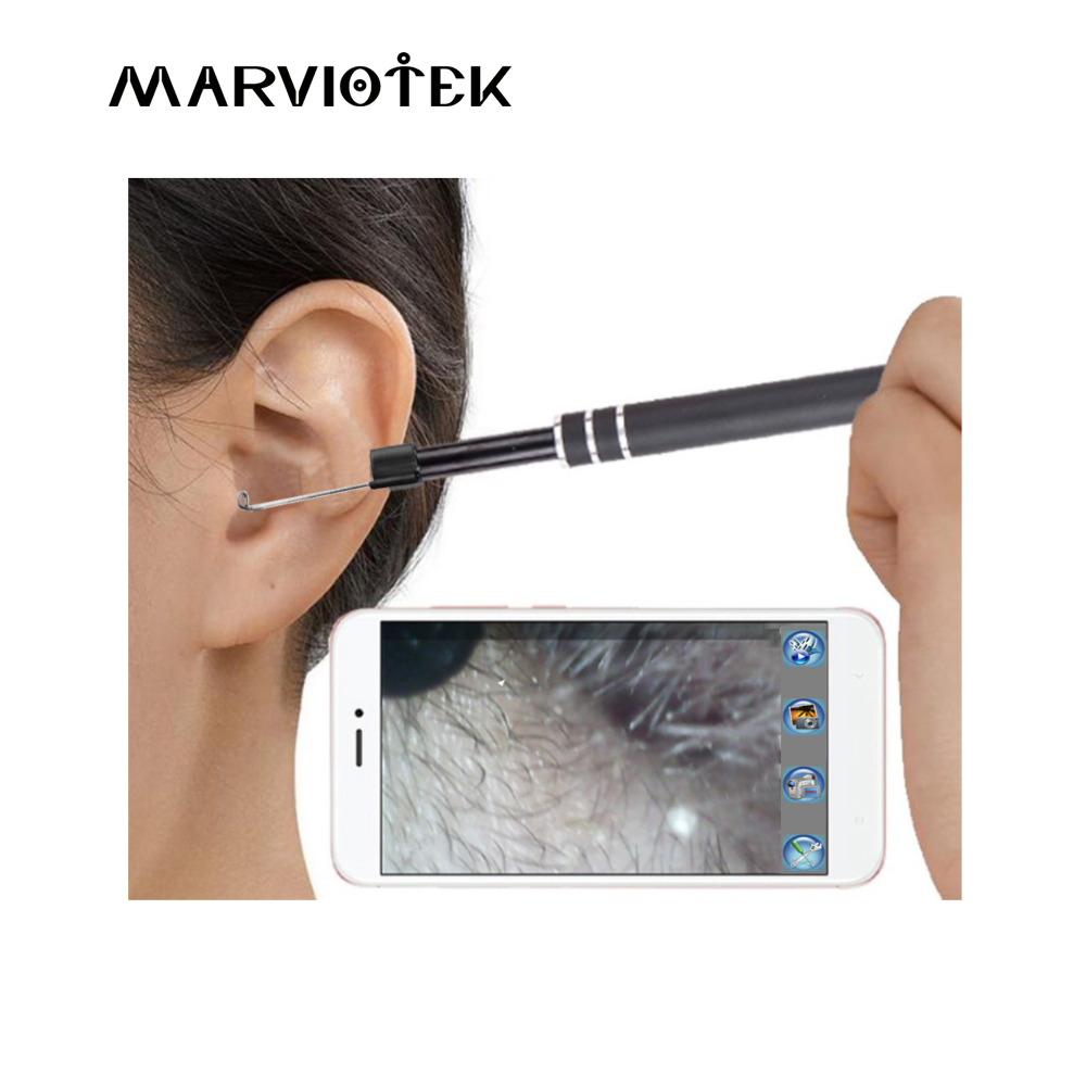 Endoscope Camera USB 3-in-1 Ear Cleaning Tool Ear Cleaning Endoscope HD Visual Ear Spoon Multifunctional Earpick Mini Camera Pen 3 in 1 in ear cleaning endoscope usb ear cleaning tool hd visual ear spoon multifunctional earpick with mini camera pen ear care