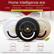 лучшая цена Ultra Thin Sweeping Robot Vacuum Cleaner Brush Floor Sweeper Strong Suction Quiet Auto Smart Robot Cleaner Machine USB Charging