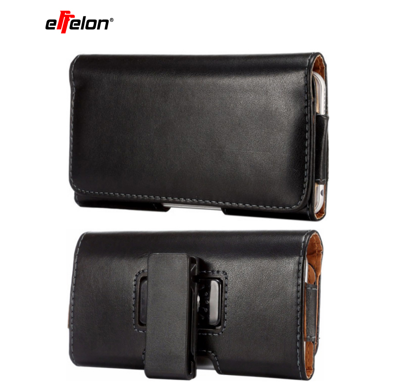 Leather Pouch men Belt Clip Bag for Samsung Galaxy Note 8/S9/S8 Plus Business Phone Cases Cell Phone Accessory for iphone/Huawei