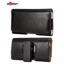 Leather Pouch men Belt Clip Bag for Samsung Note 10 9 8 5 S10 S9 S8 Business Phone Cases Cell Phone