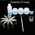 UV Nail Gel Builder Kit Nails UV Gels Tips Extension Primer Base Top Gel Polish Cleanser Nail Art Tools Set Manicure