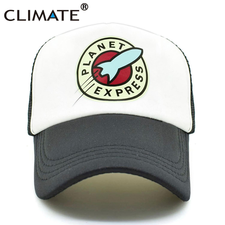 KLIMAAT Heren Dames Trucker Caps Planet Express Cool Zomer Mesh Caps - Kledingaccessoires