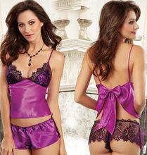 super Porn sexy lingerie pajamas intimates teddy erotic lenceria sex costume langerie conjunto Cosplay female underwear robe