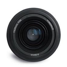 Объектив YONGNUO YN 35 мм F2, объектив для камеры 1:2 AF/MF, широкоугольный фиксированный/основной объектив с автофокусом для Nikon, Canon