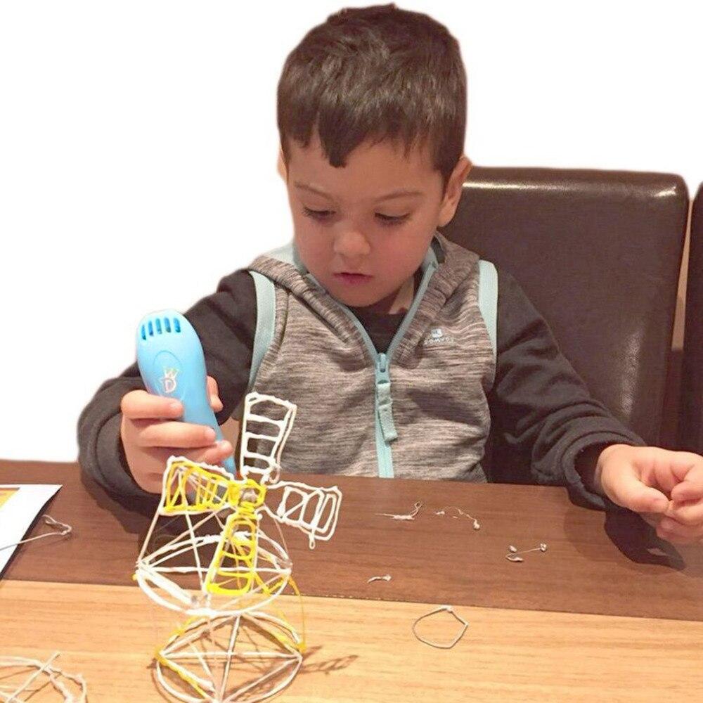 Stylos enfants magique 3D imprimante stylo cadeaux LCD affichage 3D dessin stylo Filaments puissants cadeau d'anniversaire enfants canetas livraison directe