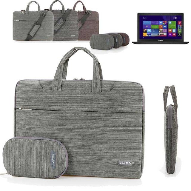 Brand New Bolsa de Ombro Laptop 15 polegada Caso Manga Notebook Portátil para Asus X540LA/K501UX/F556UA 15.6 Polegada bolsa para laptop Bolsa