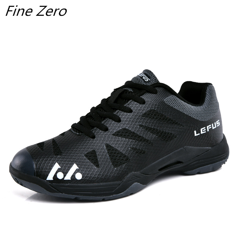 Hot Sale Men Sneakers Jogging Fitness Mesh Women Shoes Men Comfortable Outdoor Sneakers Anti-Slippery Badminton Sport Men Shoes