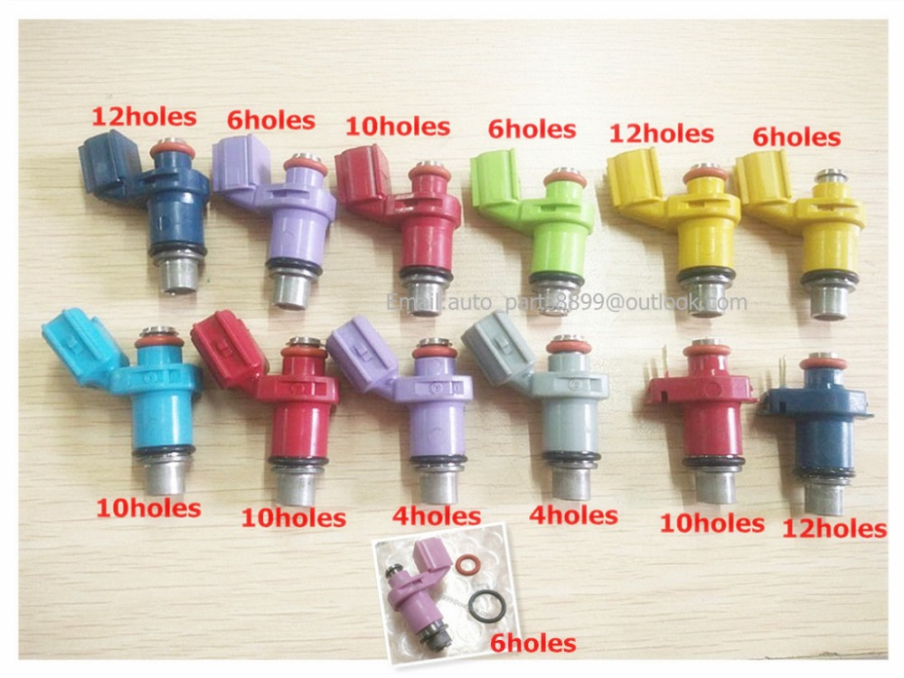 New Fuel Injector case for Outboard motorcycle engine nozzle for YAMAHA/ATV/MOTOR BIKE 4/6/10/12 holes ATV injector