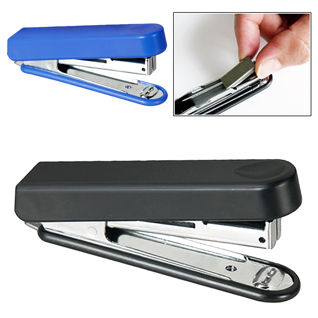 Staplers Business, Office & Industrial Helpful Cute Portable Stapleless Stapler Paper Binding Binder For Home Office School Hot Keep You Fit All The Time