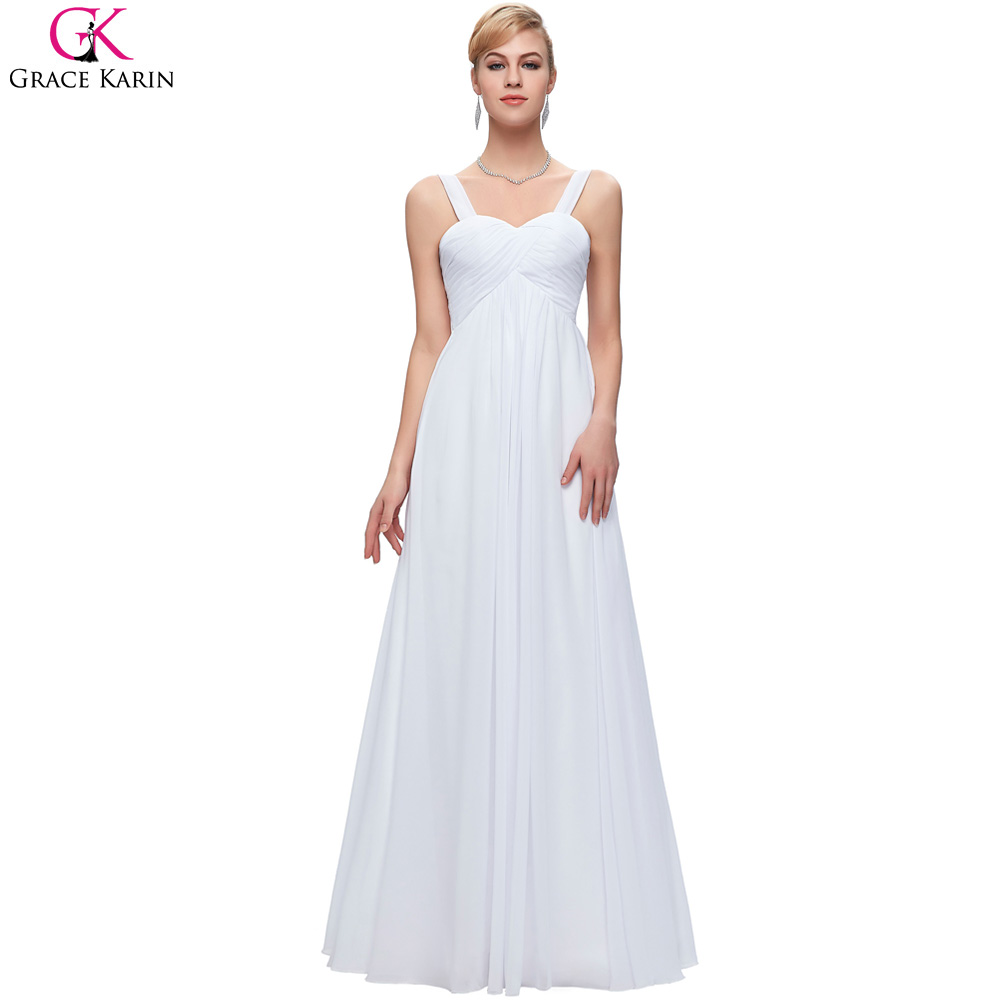 Blanco vestidos largos fiesta