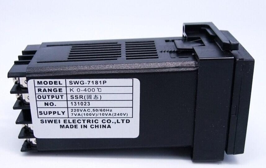 ФОТО Zhejiang Siwei swjy temperature controller thermostat   k-type 0-400 ssr SWG-7181P  Digital Knob