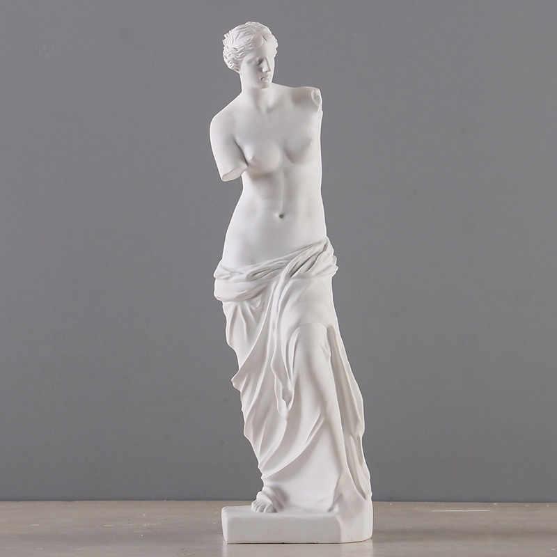 Nude Venere di milo Afrodite Dea Ellenistica Statua Riproduzione In Resina Art & Craft non-Gesso Statua di Gesso Schizzo R893