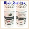 4 garrafas de alta qualidade verde natureza alimentar framboesa original ketons 350 mg * 60 cápsulas frete grátis