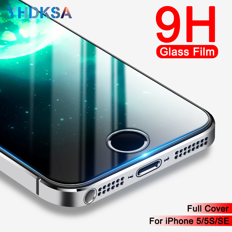 Tempered-Glass Screen-Protector Protective-Film Apple iPhone 4S 5C for 5S 5/Se/5c 9H
