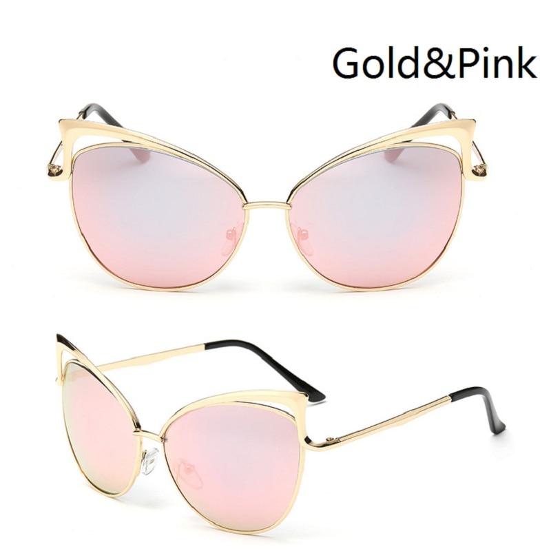 Óculos de sol Das Senhoras Das Mulheres óculos de Sol Olho De Gato Mulheres  óculos de Sol Da Liga Quadro UV400 Proteção óculos de Marca Designer Retro  ... 6e53f8667c