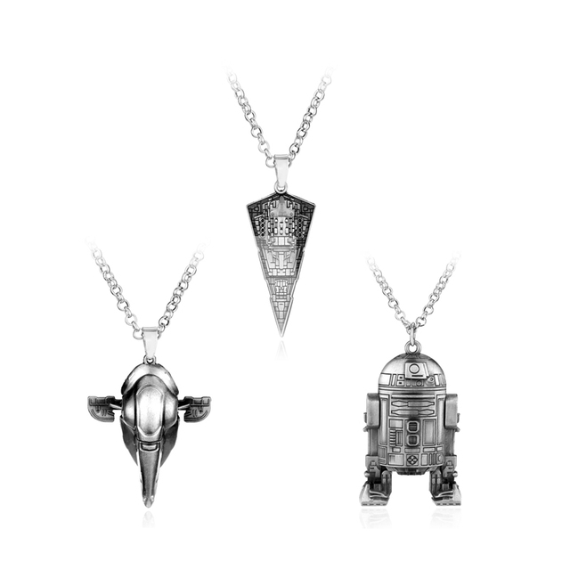 Star wars necklace millennium falcon spacecraft r2d2 pendant star wars necklace millennium falcon spacecraft r2d2 pendant necklace maxi punk men necklaces pendants craft aloadofball Gallery