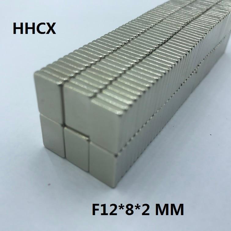 Dynamisch 100 Stücke F 12x8x2mm N35 Starke Platz Ndfeb Seltenerd-magnet 12*8*2 Neodym-magneten 12mm X 8mm X 2mm Um Der Bequemlichkeit Des Volkes Zu Entsprechen Heimwerker