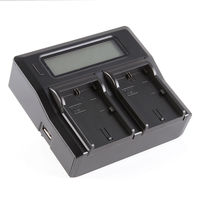 LCD Dual Battery Charger For Canon LP E6 LC E6E 5D Mark II III 5Ds 70D
