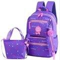 Школьные сумки для девочек-подростков с принтом  рюкзаки для путешествий  детский ортопедический рюкзак  3 шт./компл.  школьные сумки  mochila ...