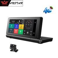 ANSTAR 4 г Автомобильный видеорегистратор камеры Bluetooth gps навигации видеомагнитофон ADAS вождения помощник регистрация мобильного телефона Remote
