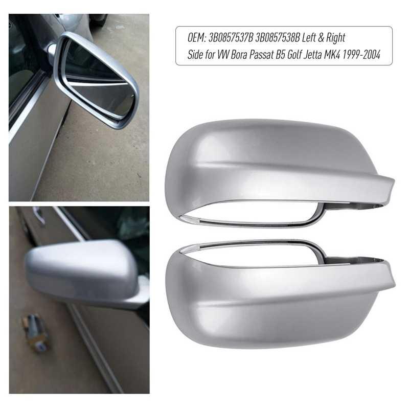 Автомобильные аксессуары 3B0857538B 3B0857537B водительская боковая крышка зеркала заднего вида подходит для-V w Bora Passat B5 Golf Je tta Mk4 1999 до 2004 (