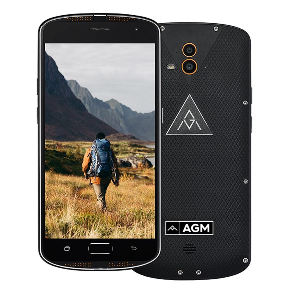 bilder für AGM X1 IP68 Wasserdicht Telefon Qualcom Snapdragon 617 Octa-core 4 GB RAM 64 GB ROM 5400 mAh Große Batterie 13MP Dual-kamera Smartphone