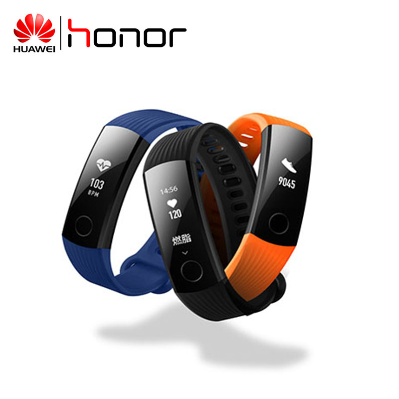 HUAWEI HONOR Band 3 Smart Wristband Heart Rate Fitness Tracker Waterproof Real-time Activity Tracker Wearable Devices