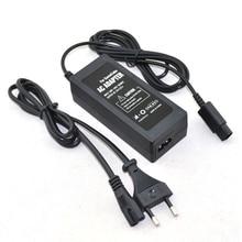 האיחוד האירופי Plug AC מתאם אספקת חשמל עבור N GC gamecube קונסולת עם כבל חשמל