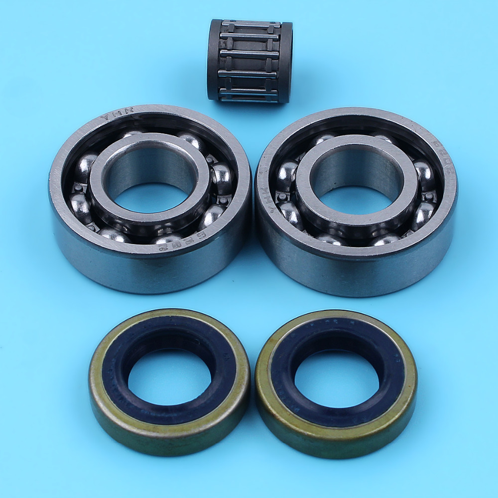 Crankshaft Bearing W/Oil Seal WT Pin Bearing For Husqvarna 272 268 266 66 61 Chainsaw Replacement Parts 503 73 39-01 NewCrankshaft Bearing W/Oil Seal WT Pin Bearing For Husqvarna 272 268 266 66 61 Chainsaw Replacement Parts 503 73 39-01 New
