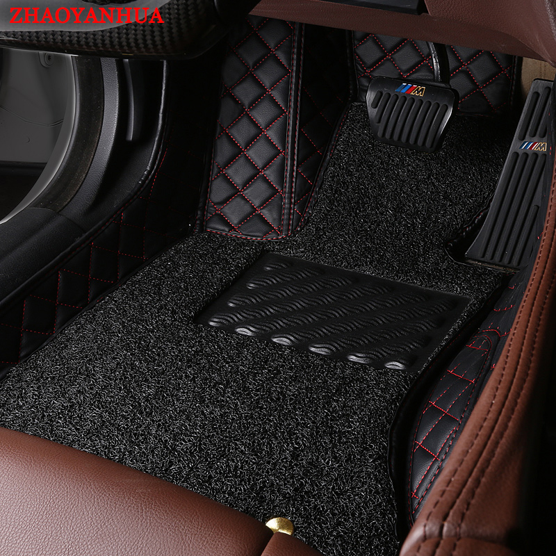 Customize My Car >> Custom fit car floor mats for Ford Focus Mondeo Fiesta S max Ecosport Kuga Tunland Eoge car ...