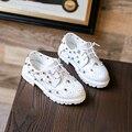 2017 новый дизайн shoes для малыша обувь патент оксфорд обуви черный подходит унисекс дети классический производительность chaussure заклепки studed