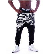 NEBBIA 2018 Fitness Men's Casual Trousers Wei Pants Slim Feet Pants Squat Jogging Sweatpants Bodybuilding Trousers Gym Clothes