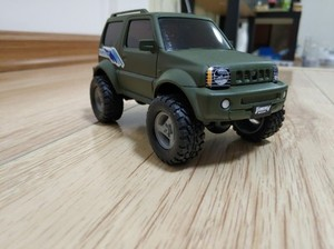 Image 4 - 1:32 Model car for Suzuki Jimny Model Adult toys 4X4 Garage kit offroad accessories