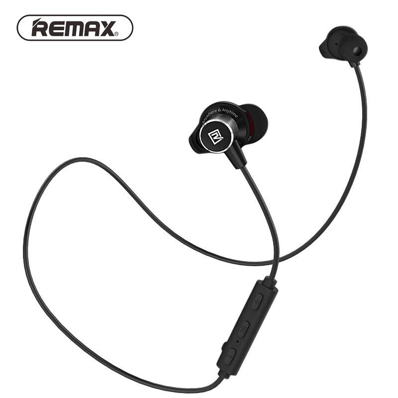 Remax RB-S7 Magnetische Sport Wireless Bluetooth Kopfhörer in-ear Headset HD Stereo Bass Neckband Headset für Apple Samsung HUAWEI