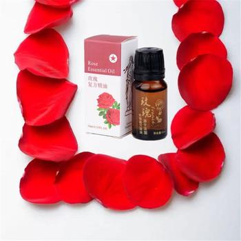 Olejki eteryczne orgnic Rose oil 100 natural Rose pielęgnacja skóry pielęgnacja włosów olej 10 ml butelka olejek do masażu ciała dla schudnąć odchudzanie tanie i dobre opinie Rose essence Związek olejku JY-02 NoEnName_Null