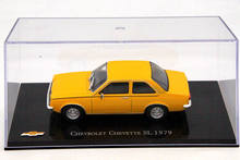 IXO Altaya 1:43 Scale Chevrolet Chevette SL 1979 Diecast Models Toys Car Collection Yellow(China)