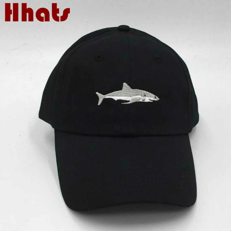 ce6ff58753d which in shower stitched shark snapback man cap baseball cap hip hop  embroidery curved strapback dad