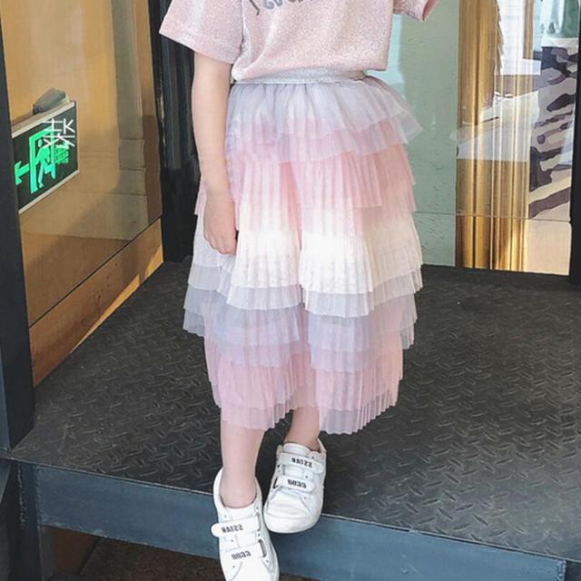 2019 cake styles layers Girls Summer Tutu Baby Little Tutus Girls Dance Skirts Child Skirts Girls Fluffy Long Pettiskrit Baby