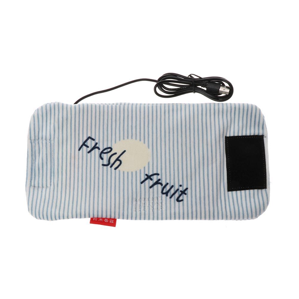 Travel Stroller USB Milk Water Warmer Insulated Bag Baby Nursing Bottle Heater