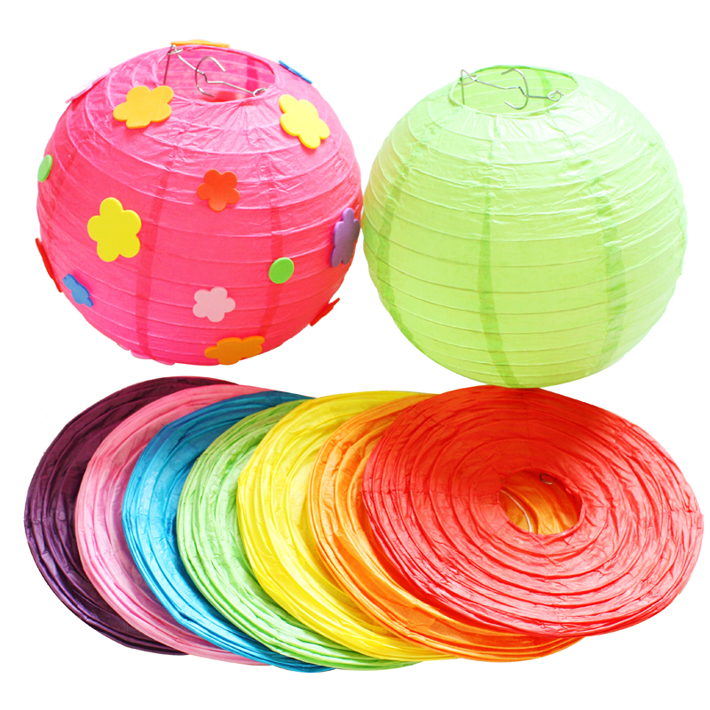Paper Lanterns Ottawa Wholesale Weddings By Pritchard: Wholesale Multicolor Chinese Paper Lanterns 12''(30cm) For