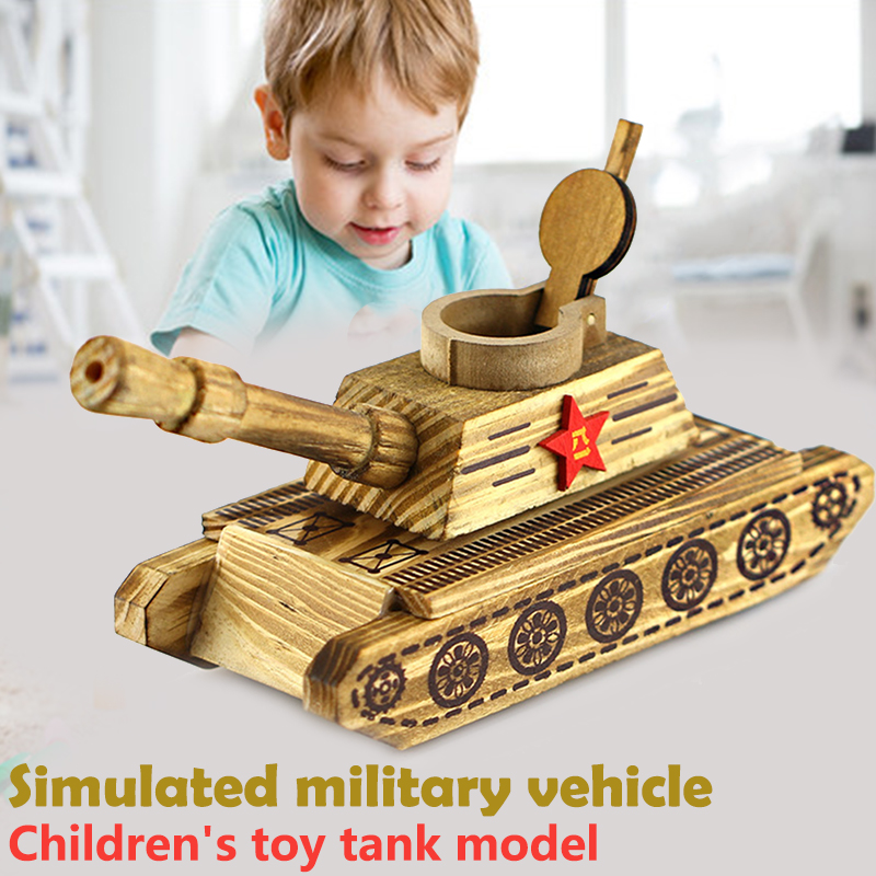 Military Tanks Military Simulation Toy Educational Hobby Funny Beautiful Entertainment Decoration Cool Wood Collection tênis masculino lançamento 2019
