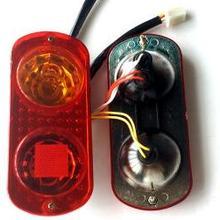 Электрический трицикл задние фонари один 9th задние фары 48 в шесть линий три фары тормоза обратного рулевого управления задний