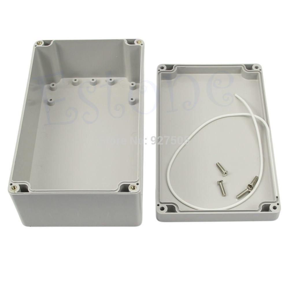 Portable Electronic Enclosures : C new waterproof plastic project box enclosure quot
