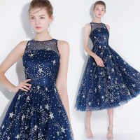 Glaring sequined Cocktail party Dress star light birthday party dress graduation dress short prom dress robe de soiree vestido