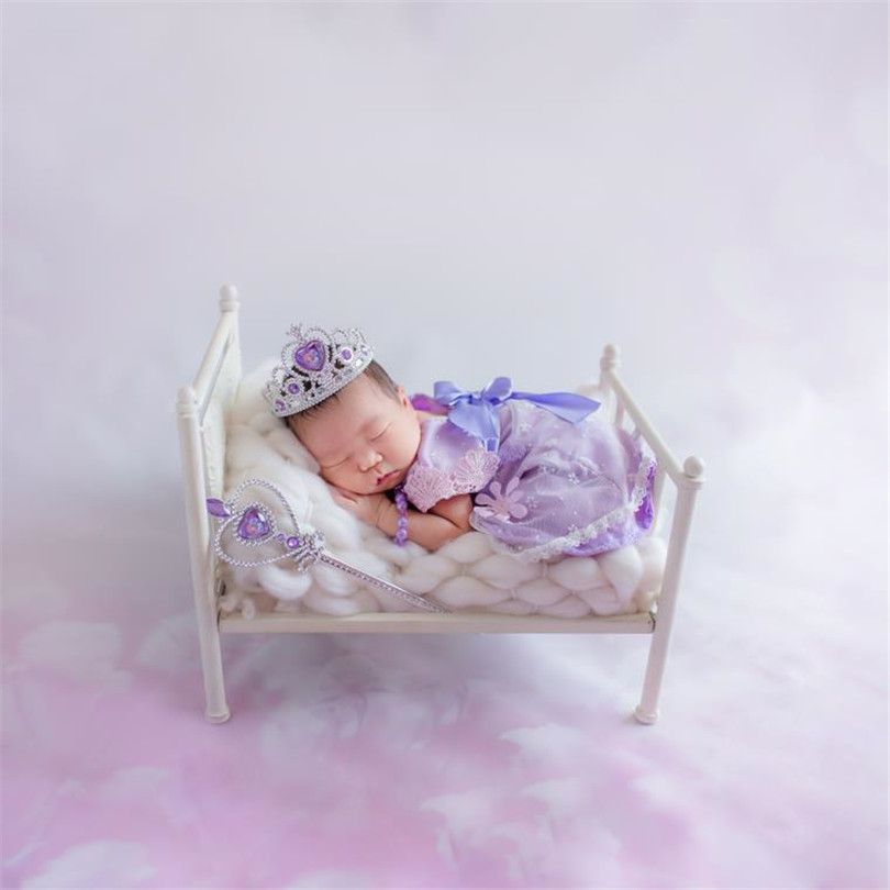 Nouveau-né bébé Mini lit Vintage bébé lit photographie accessoires nouveau-né photographie prop rustique bébé photo accessoires
