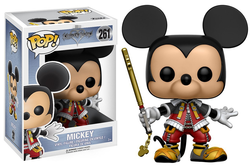 Disney Kingdom Hearts Mickey Mouse sous licence Funko POP VINYLE 261 FIGURE NEW