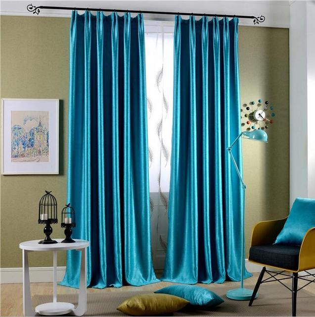 Curtains Ideas blackout drapes and curtains : Aliexpress.com : Buy 2 Pieces Solid Color Luxury Window Curtains ...